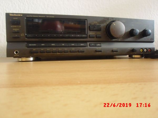 Technics SA-GX 200 AM FM