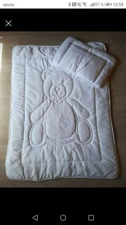Neuwertiges Kinder Bettdecken Set Wäsche