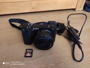 Sony Alpha Digitalkamera 6300 mit