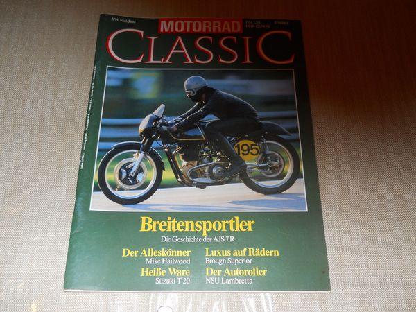 Motorrad Classic Zeitung AJS MIKE
