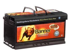 Banner AGM Batterie Running Bull: Kleinanzeigen aus Mannheim Almenhof - Rubrik Batterien