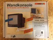 Wandkonsole für TV-Geräte und PC-Monitore