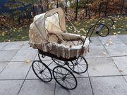 Puppenwagen in antikem Design - gebraucht