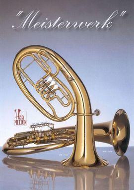 Blasinstrumente - Melton Meisterwerk MWT 23-L Tenorhorn