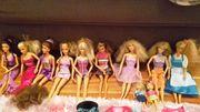 Riesige Barbie Sammlung