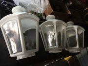 3x Ersatzglas Steinl L562 weiß