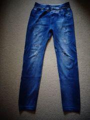 Leggings mit Jeansdruck ca Gr