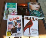Bücher und DVDs günstig abzugeben