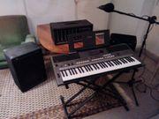 Yamaha Keyboard Peavey Gesangsanlage Mikro