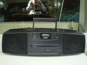 Philips Stereoanlage mit 2 Kassetten