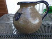 Handgetöpferter Keramikkrug Vase