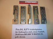 KFV-Schließplatten für Rollzapfen einfr 4mm