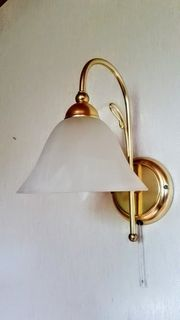 Wandlampe im Retrodesign