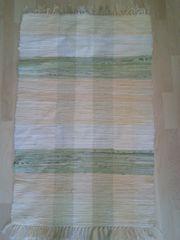 Flickenteppich gelb-grün 70 x 110