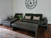 Couch Koinor mit Jumbohocker