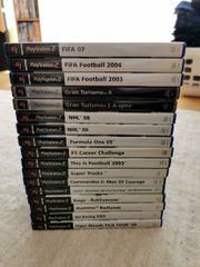 PS2 Spiele und Controller