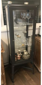 Vitrine IKEA retrodesign
