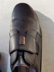 Herren-Slipper Rieker Antistress Leder schwarz
