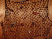 Fischernetz Fische Muscheln