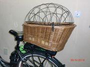 Hundetransportkorb fürs Fahrrad