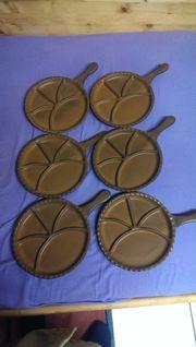 Fondue Teller-Set NEU zu verkaufen