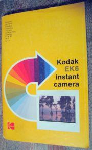 Kodak EK 6 Instant Kamera