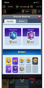 Clash Royale Account Lvl13