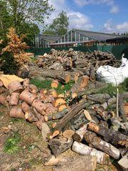Holz Feuerholz Brennholz Kaminholz