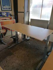 Steh-Sitz-Schreibtisch Bene Bürotisch Arbeitstisch Büromöbel