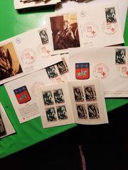 Briefmarken-Konvolut unsortiert