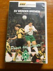 Werder Bremen Videokassette Power auf
