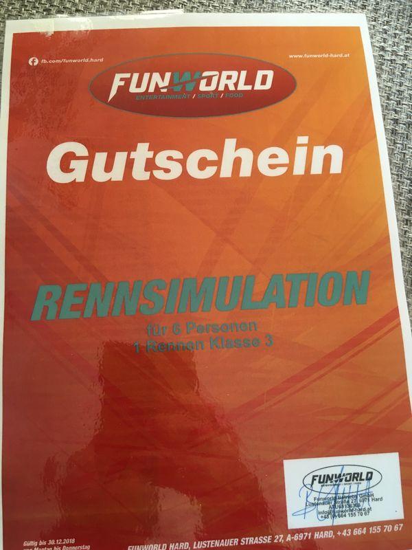 Gutschein Funworld Hard