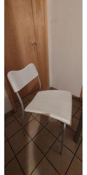 Essgruppe mit 6 Stühlen