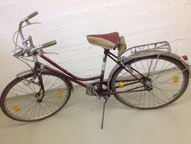 Altes Schweizer Fahrrad