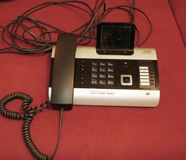 Telefonanlage Gigaset DX600A ISDN titanium