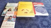 4versch Lehrmaterialien für Englisch