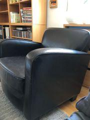 Sessel braun zu verschenken