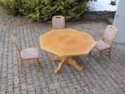 Esstisch mit 3 Stühlen Rüster