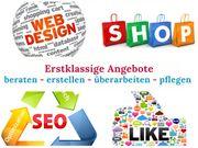 Webdesign SEO Online-Shop Google Suchmaschinenoptimierung
