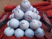 30 gebrauchte Callaway Golfbälle