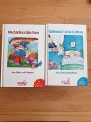2 Kinderbücher Wichtel- und Gutenachtgeschichten