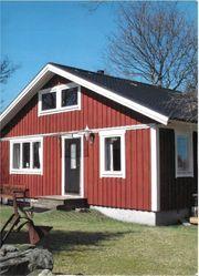 Ferienhaus Småland Schweden Boot See