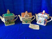 3 Teekannen von Sadler Sammlerstücke