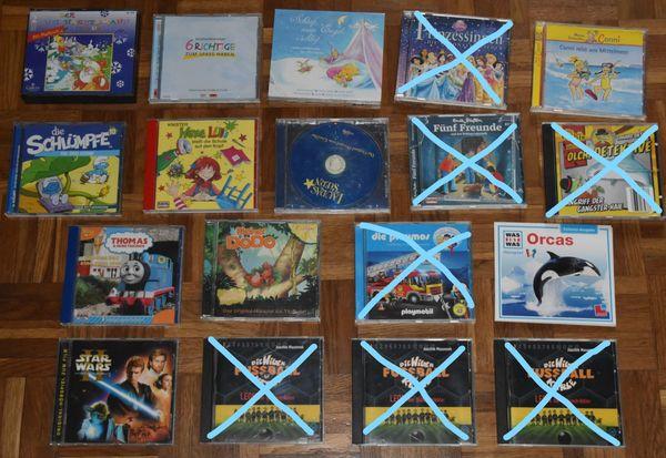 11 Kinder-CDs Hexe Lilli Conni