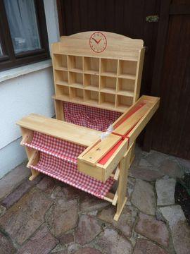 Kaufladen aus massiv Buche neuwertig: Kleinanzeigen aus München - Rubrik Holzspielzeug