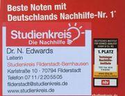 Nachhilfe in Bernhausen mit Geld-zurück-Garantie