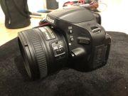 Nikon D5100 SLR-Digitalkamera Nikon AF-S