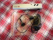 Taschenlampe Radio DB und Ohrhörer
