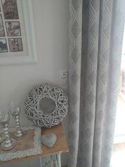 Vorhang neu mit Ösen für