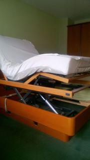 Doppelbett links Pflegebett rechts Normalbett